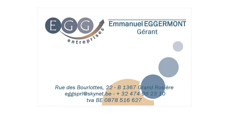 Carte de visite de EGG Entreprise