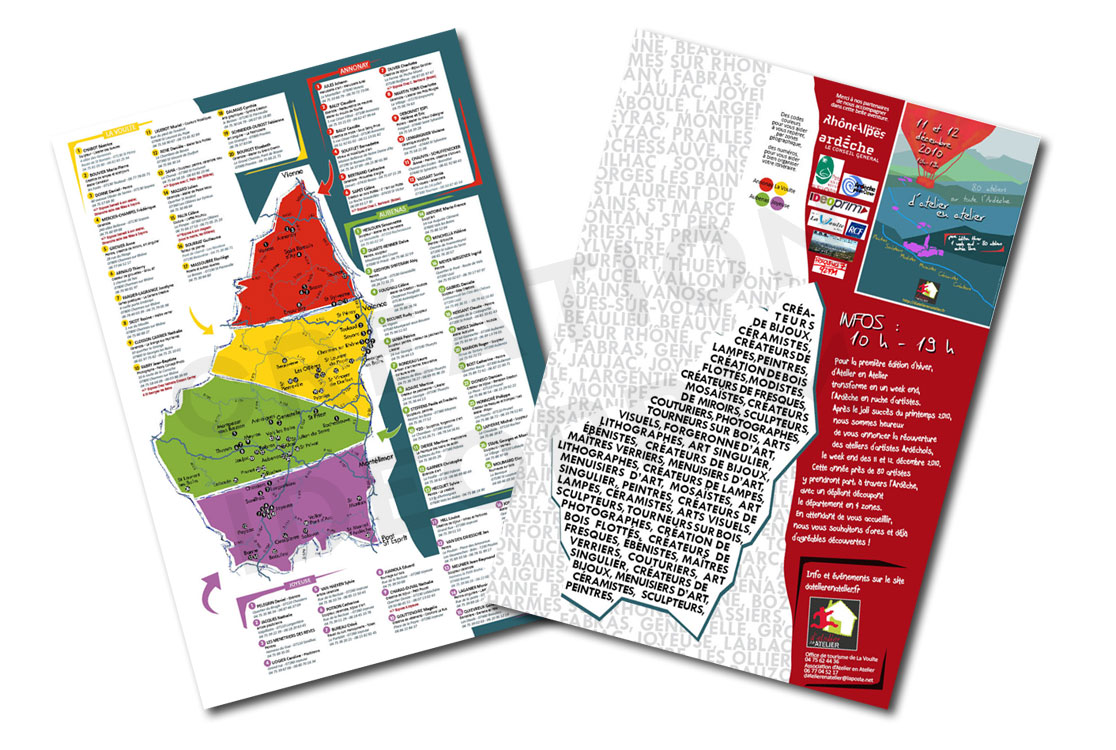 d'Atelier en Atelier - 2010 - Programme