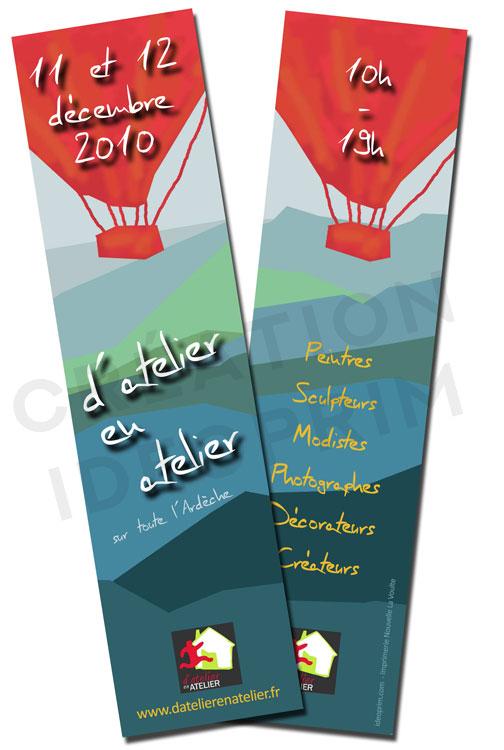 d'Atelier en Atelier - 2010 - Signets