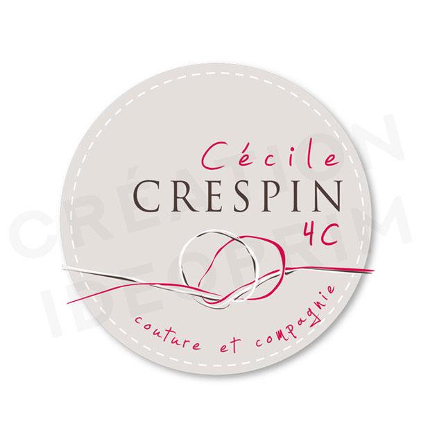 Logo pour artiste en couture