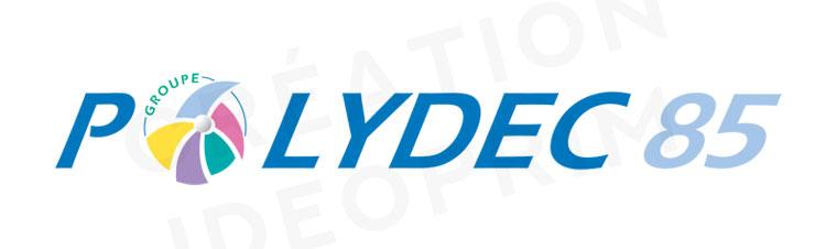 Logo Polydec par IDEOprim