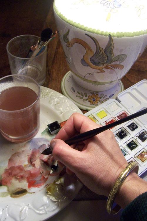 Artiste peintre Elisabeth Martel