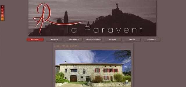 La Paravent, chambre d'hôtes au Puy