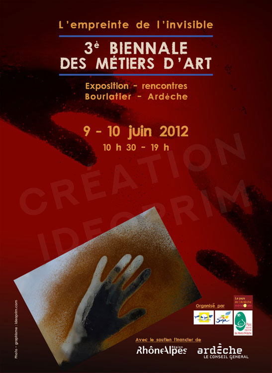 Affiche expo Trajectoires