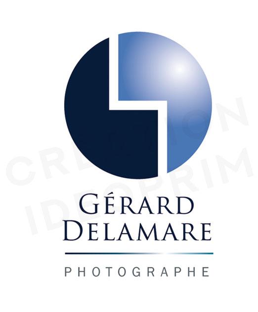 Logo du photographe, Gérard Delamare