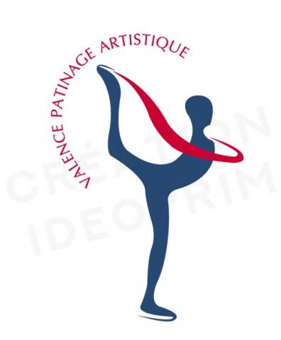Logo du club de patinage artistique de Valence