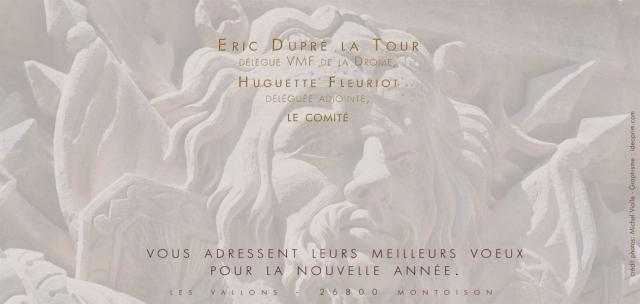 Carton de voeux des VMF de la Drôme
