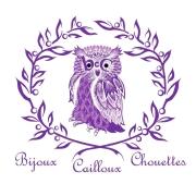 Bijoux cailloux Chouette